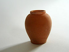 Vaso in terracotta cm 4,5